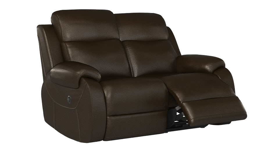 Avalon 2 seater manual double recliner sofa