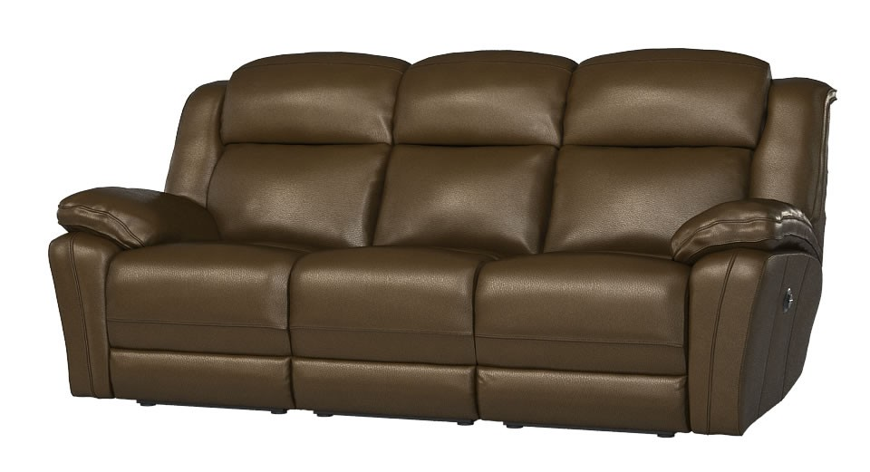 Napoli 3 seater manual double recliner sofa