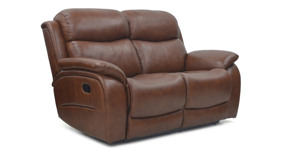 Ely 2 seater manual recliner sofa