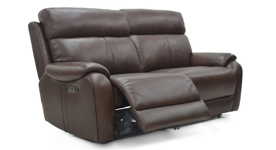 Winchester 3 seater manual recliner sofa