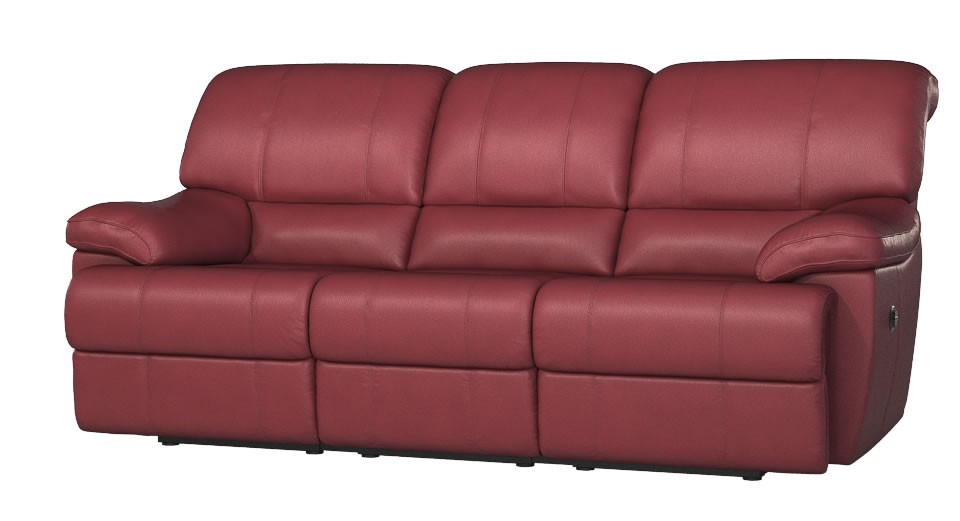 Rimini 3 seater manual double recliner sofa