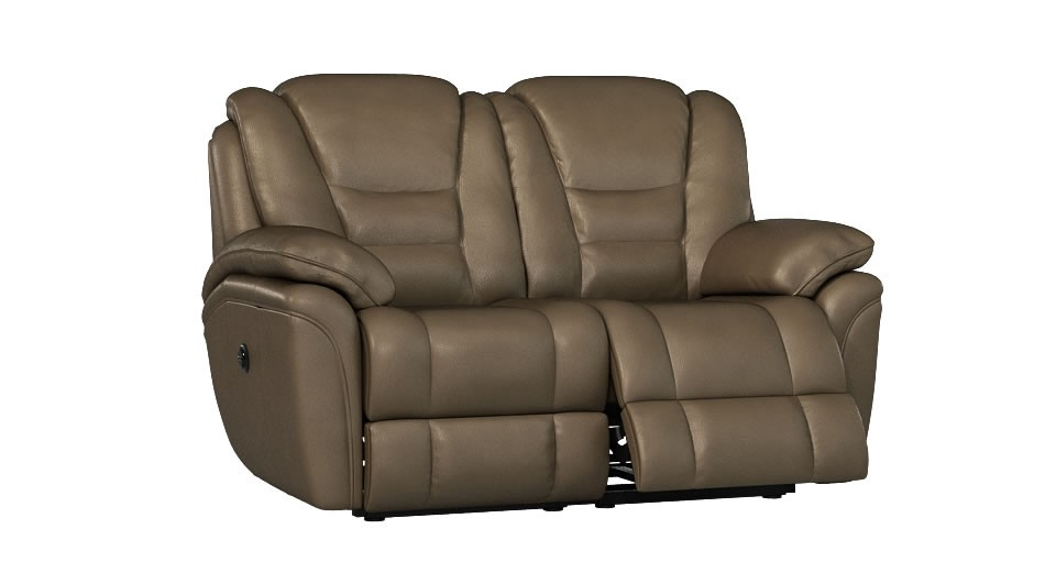 Superior 2 seater manual double recliner sofa