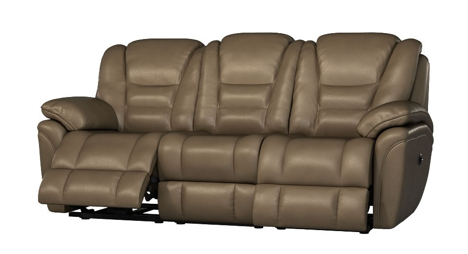 Superior 3 seater manual double recliner sofa