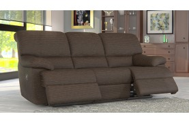 Florence 3 seater electric double recliner sofa