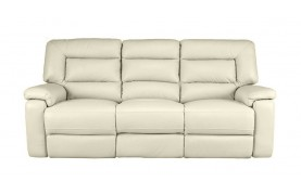 Imperia 3 seater manual double recliner sofa