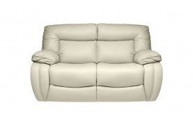 Modena 2 seater manual double recliner sofa