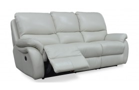 Carlton 3 seater manual recliner sofa