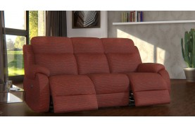 Chelsea 3 seater electric double recliner sofa