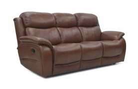 Ely 3 seater manual recliner sofa