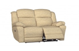 Rochester 2 seater manual double recliner sofa