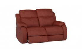 Chelsea 2 seater manual double recliner sofa