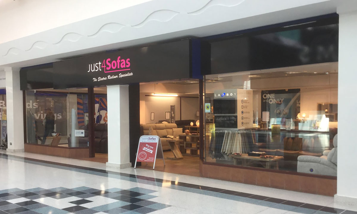 Just4Sofas Showroom